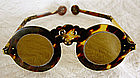 Antique Chinese eyeglasses tortoise shell frames