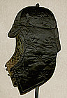 Antique Manchurian Mans Silk Quilted Winter Hat