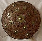 Antique Sumatra Atjeh Rattan Warrior Shield