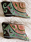 Pair of Antique Chinese Lotus Shoes Hand-me-downs