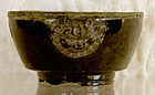 Antique Chinese Lacquer Buddhist Alter Cup