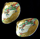 Japanese pair of Kai-awase matching shells