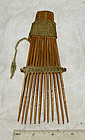Admiralty Island Traditional Hair Comb for Men