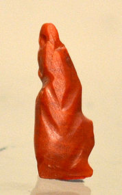 AN AMARNA EGYPTIAN CARNELIAN HORUS THE CHILD