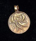 AN ANCIENT ROMAN GOLD PENDANT