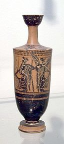 A LARGE ATTIC BLACK-FIGURE LEKYTHOS
