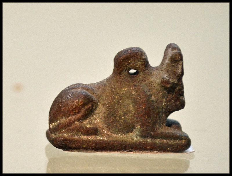 AN ANCIENT EGYPTIAN APIS BULL AMULET