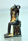 ANCIENT EGYPTIAN AMULET OF BASTET