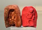AN ANCIENT EGYPTIAN TERRACOTTA MOLD