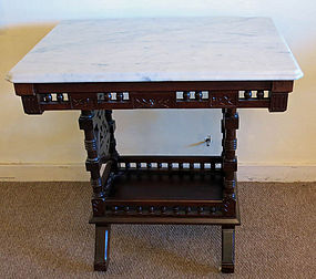 American Eastlake Victorian Parlor Table
