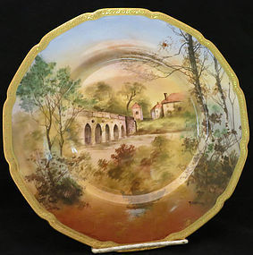Handpainted Royal Doulton Castle Service Plates