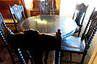 Hand Decorated Dining Table and Chairs