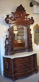 American Victorian Mitchell & Rammelsberg Dresser