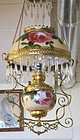 Victorian Hand Painted Hanging Light Fixture