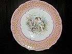 Sevres Handpainted Plate