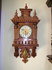 Antique Victorian Wall Clock