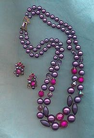 Eugene Necklace and Earrings Set