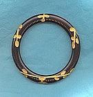 Carved Bakelite Bracelet