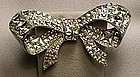 STARET BOW BROOCH