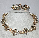 ROBERT NECKLACE AND EARRINGS SET