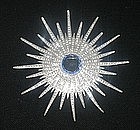 STAR BURST BROOCH FROM THE 1940s
