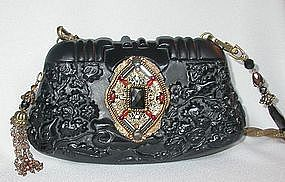 MAYA'S JEWELED MEDALLION PURSE