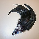 ROBERT SORRELL FEATHER BROOCH