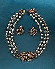 Robert Necklace and Earrings