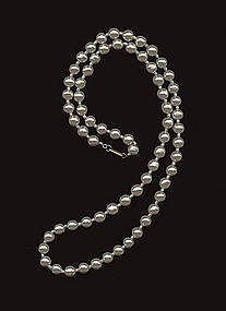 MIRIAM HASKELL PEARL NECKLACE