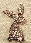 DOROTHY BAUER RABBIT PIN