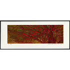Joichi Hoshi Woodblock - Red Branches