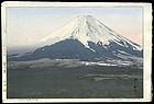 Original Hiroshi Yoshida Woodblock: Fuji from Yoshida