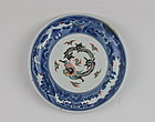 18th CENTURY ARITA KAKIEMON DISH