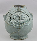 A VERY RARE YUAN DYNASTY STYLE FRAGMENT OF QINGBAI EWER