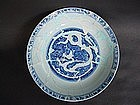 A Sample Of Chenghua period Imperial Blue & White Dish