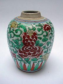 A Good Kangxi Wucai Jar