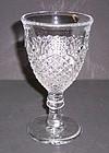 Westmoreland Crystal ENGLISH HOBNAIL 6 Inch GOBLET