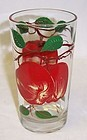 Unknown Maker PEANUT BUTTER 5 Inch GLASS-APPLES