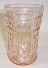 Federal Pink PATRICIAN SPOKE 4 1/4 In 9 Oz TUMBLER