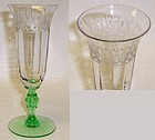 Morgantown Jewel Meadow Green Stem 6.5 ETCHED PARFAIT
