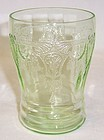 Hocking Green CAMEO BALLERINA 4 Inch WATER TUMBLER