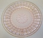 Jeannette Pink SUNFLOWER 9 Inch DINNER PLATE