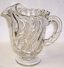 Fostoria Crystal COLONY 8 1/2 Inch Footed WATER PITCHER