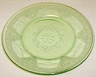 Federal Green GEORGIAN LOVEBIRDS 6 Inch DESSERT PLATE