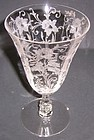 Cambridge Crystal DAFFODIL 6.5 In 11 Oz WATER GOBLET