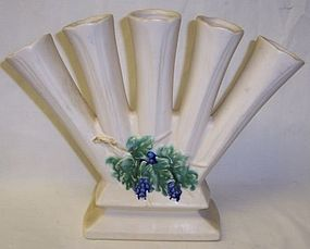McCoy ANTIQUE CURIO 8 1/4 Inch High FINGER VASE
