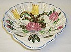 Southern Potteries BLUE RIDGE NOVA ROSE Shell Dish