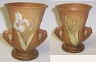 Roseville Vintage Number 914 Brown IRIS 4 Inch VASE