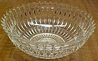 Jeannette Crystal WINDSOR 8.5 In POINTED EDGE BOWL
