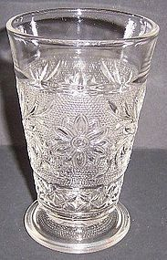 Anchor Hocking Crystal SANDWICH 5 In 9 Oz Ftd TUMBLER